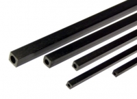 Square Carbon Fibre Tube 6.0x6.0 x 1000 mm